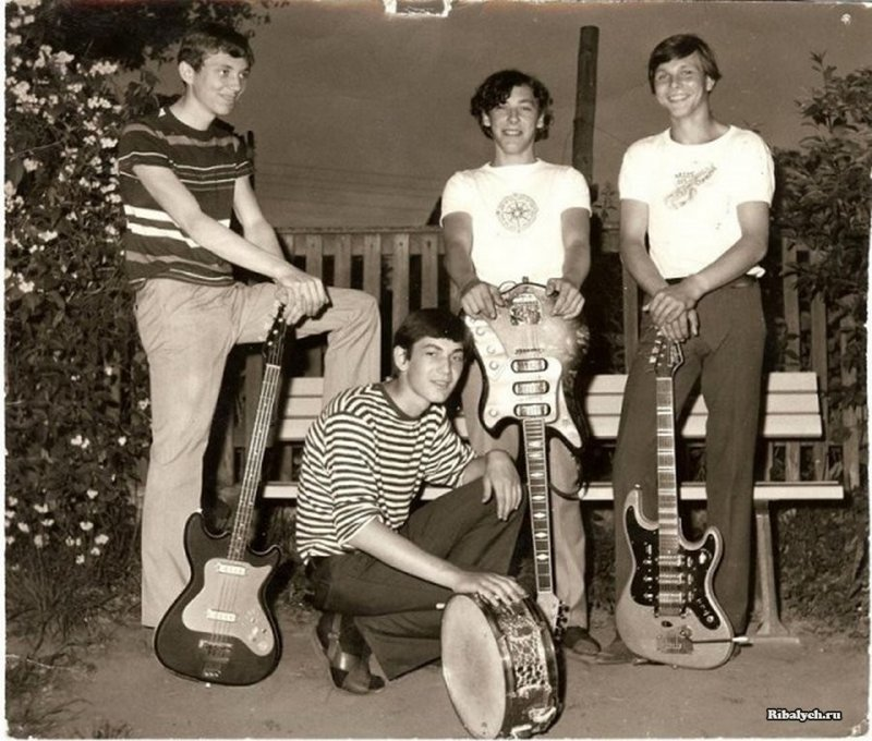 Начало. Scorpions в 1965 году история, люди, мир, фото