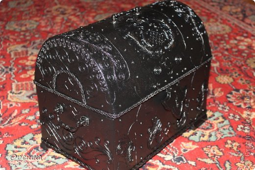 Сундук из картона своими руками мастер