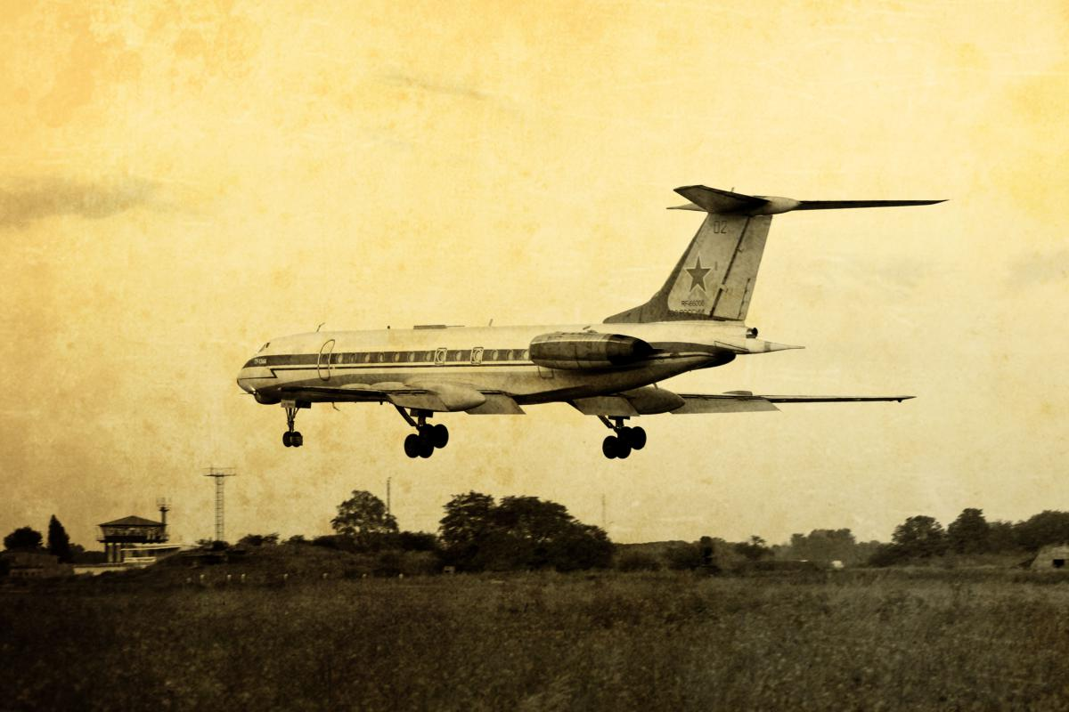 Катастрофа Ту-134ЛЛ СССР-656…