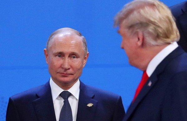 Путин не стал здороваться с …