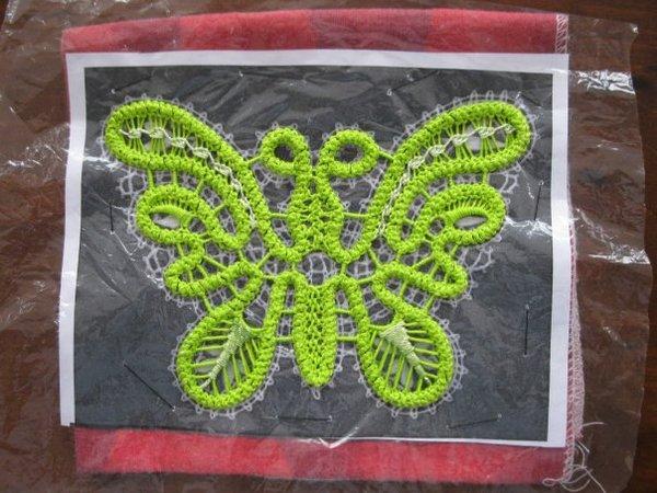 Мастер-класс - вяжем ажурную бабочку крючком!