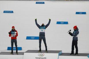 Немцы заняли весь пьедестал в лыжном двоеборье на ОИ в Пхенчхане