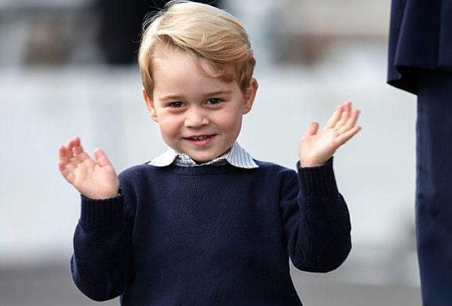 Ваше  милейшество - 10 раз, когда принц Джордж заставил мир улыбнуться