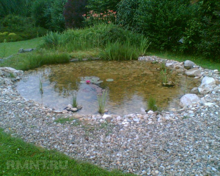 Водопад для пруда фото