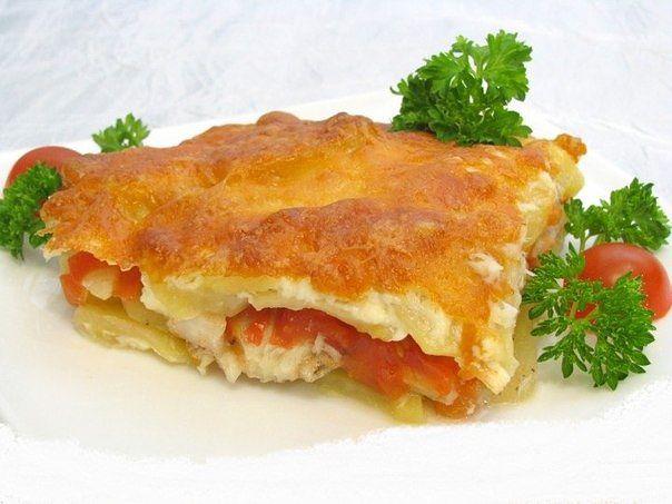 Рыба запеченная с картофелем в духовке рецепты простые и вкусные