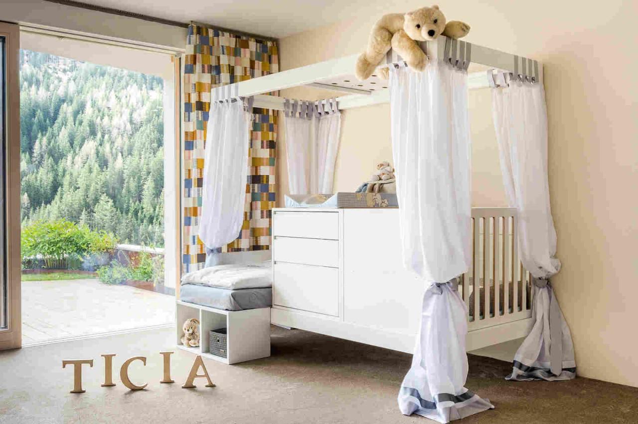 Ticia — кровать, которая растёт с ребёнком