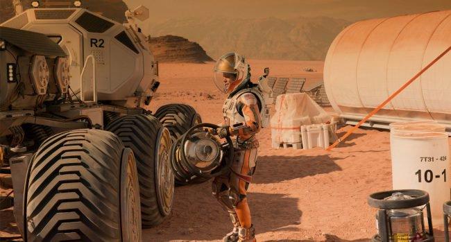 Дышать на Марсе нам помогут …