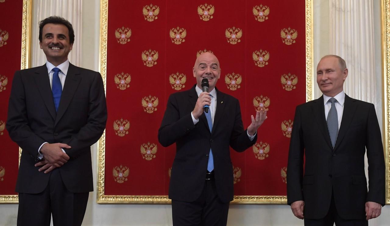 Россия передала Катару эстаф…