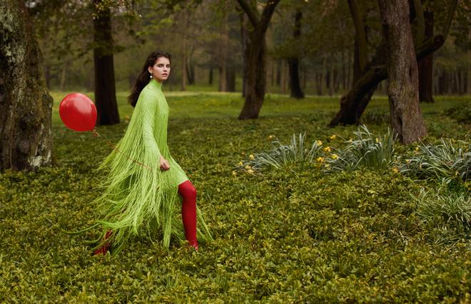 Земляничные поляны: цвета в безумных сочетаниях — инструкция по главному тренду осени