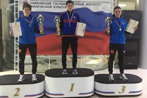 Магаданец Александр Миланин занял второе место в первенстве России по лыжному двоеборью