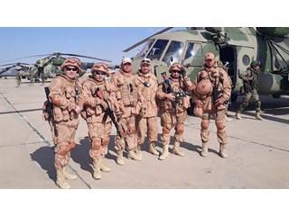 Даже испугаться было некогда: как старший сержант спас жизнь товарищу-морпеху в Сирии