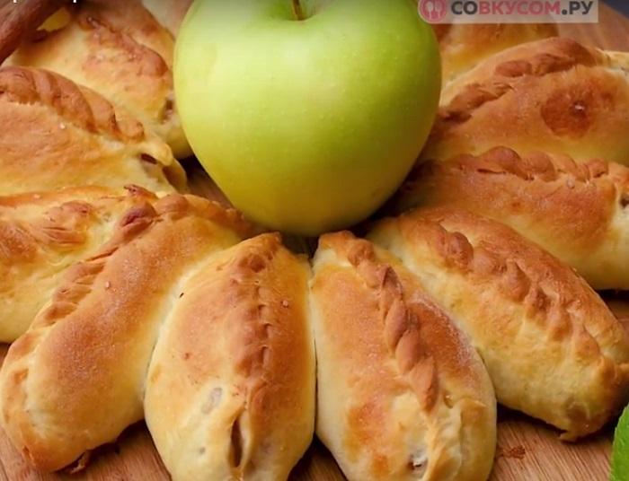 пирог с яблоками видео