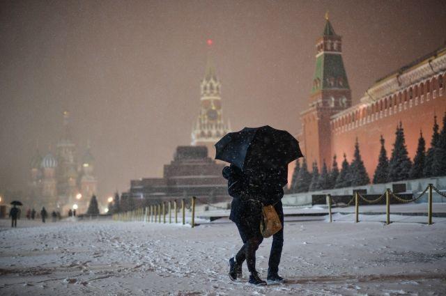 В Москве в ближайшие три дня пройдут метели