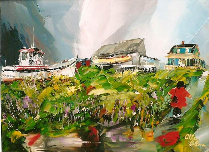 Канадский художник Albini Leblanc. Миниатюры мастихином. Двадцать первая