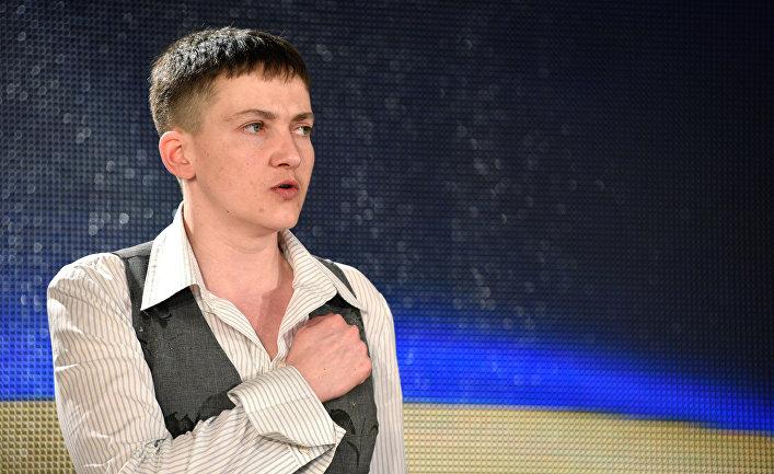 Явление Савченко народу: ни одной ошибки, лишь одна помарка (Укрiнформ, Украина)