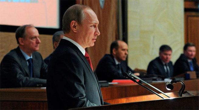 «Россия на пороге кардинальных изменений» - речь Путина на встрече с офицерами ФСБ