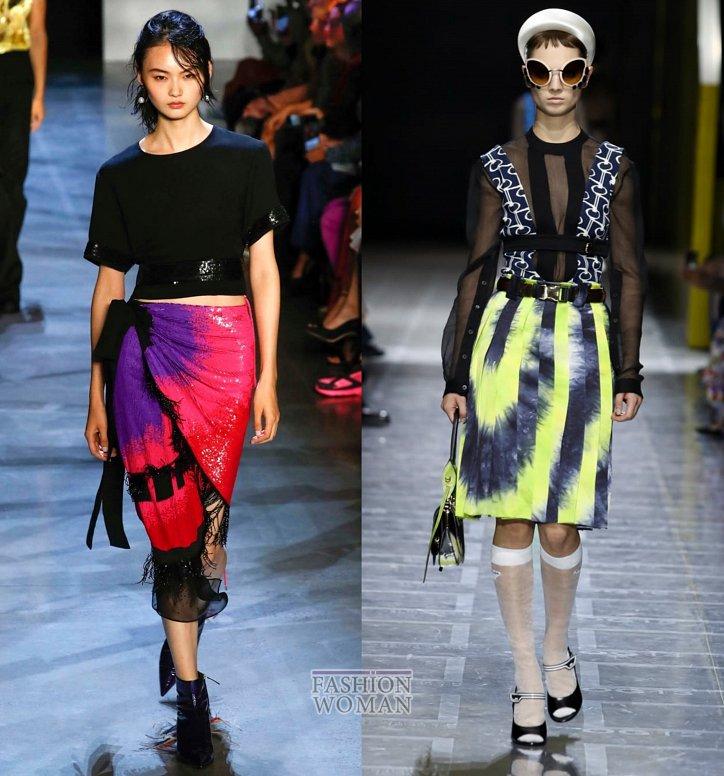 Модные юбки весна-лето 2019 фото №52
