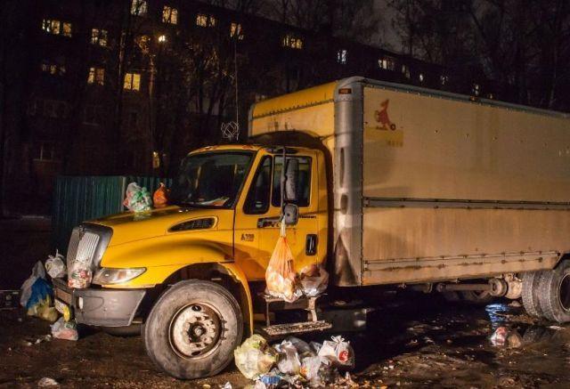 Аварии и дтп. Месть за парковку по-хамски (6 фото)