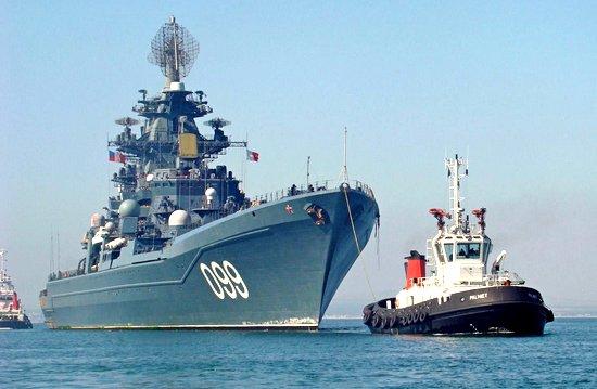 Авианосцы США струхнули при виде «Адмирала Нахимова»