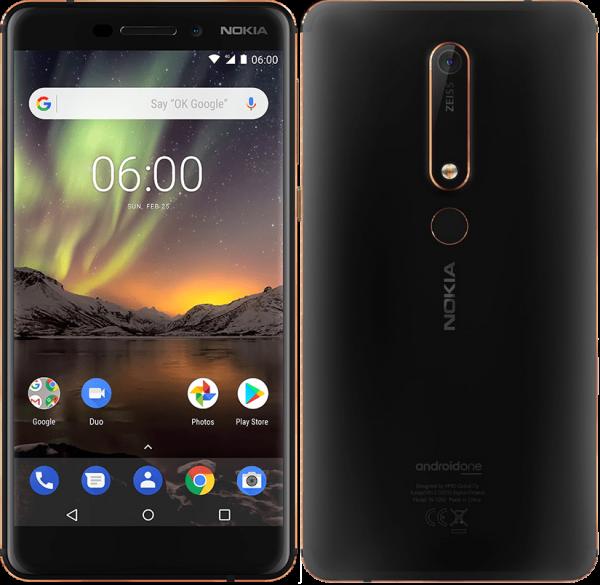 Nokia 6.1 прошел испытание н…