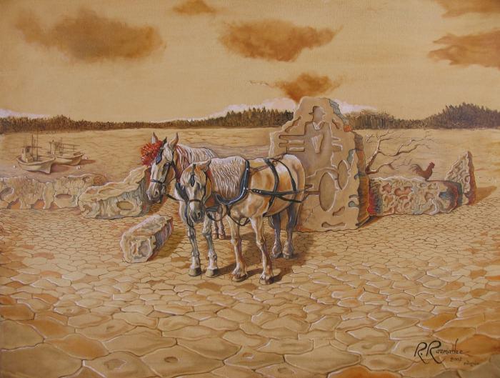 Сюрреалистические картины. Ramaz Razmadze
