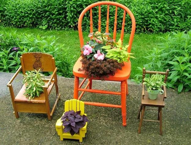 Поделки для дома и дачи своими руками декор из подручных материалов