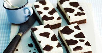 """Рецепты для детей. Пирог шоколадный - рецепт с молочным кремом """"Коровка"""""""