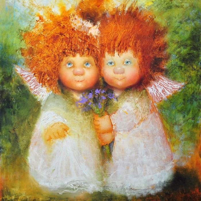 Согревают душу и дарят улыбку — солнечные ангелы Галины Чувиляевой