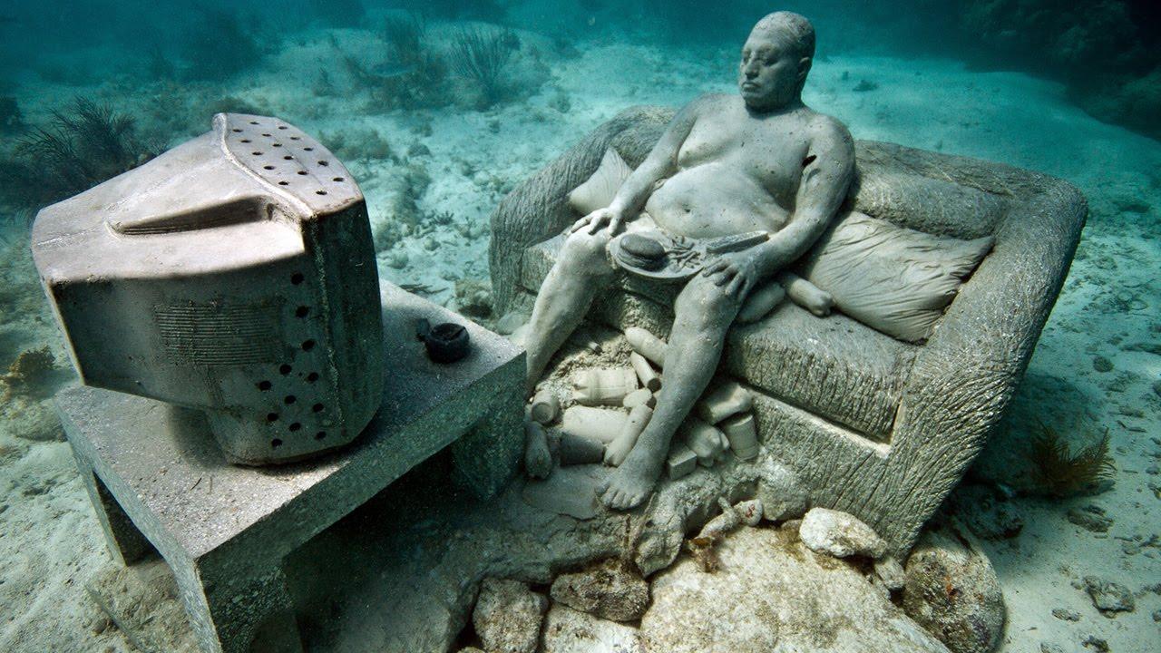 Неожиданные подводные находки
