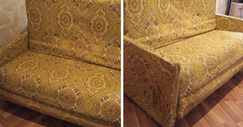 Что можно сделать из дивана советских времен при наличии некоторого количества времени