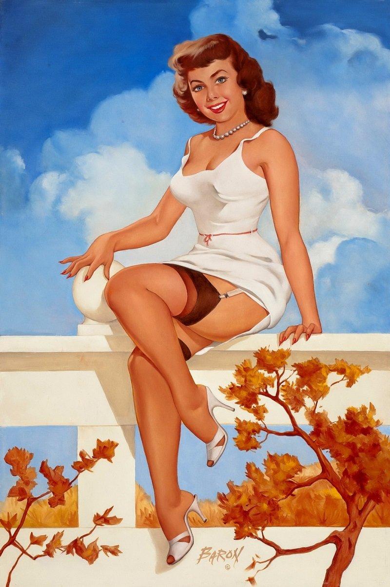 Осенний пин-ап