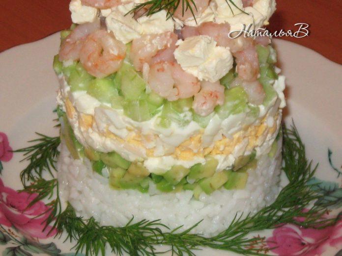 Салат «Сушивкус» — удовольствие для настоящих гурманов