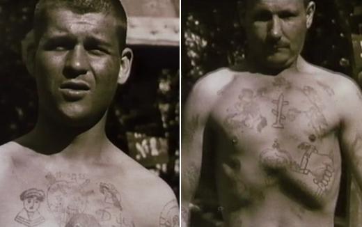Уголовники и педофилы во время войны.