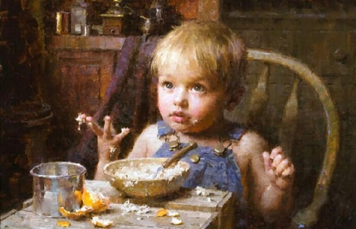 «Живопись стала моим вторым языком» : Удивительный мир детства на полотнах Моргана Вестлинга