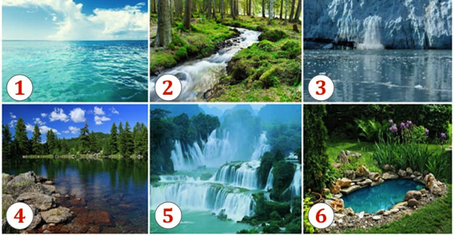 Удивительный тест: Выберите водоем и узнайте что вас ожидает