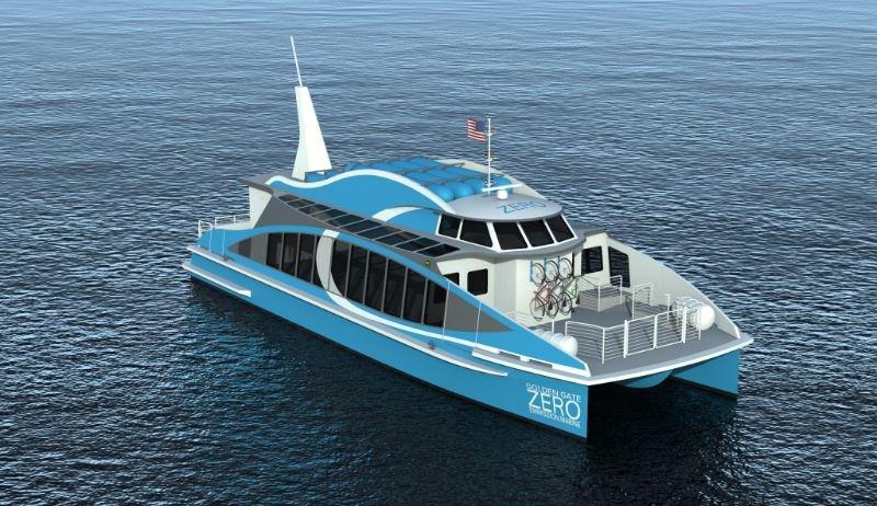 Первый в мире водородный паром: новое судно построят всего за один год