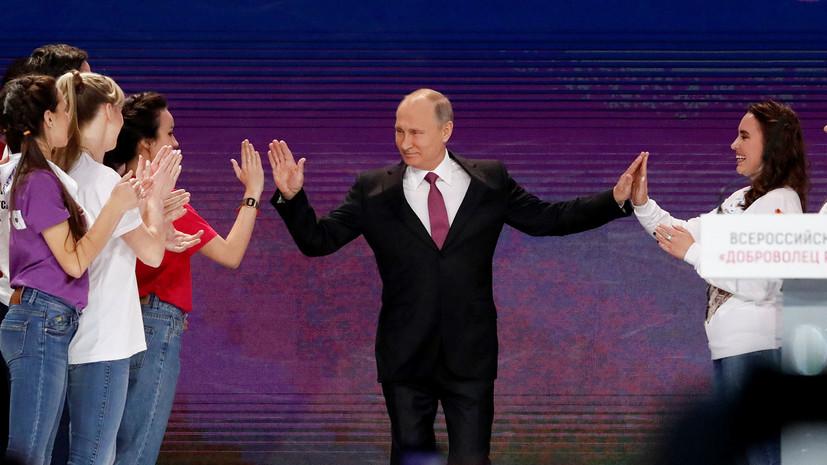 «Важный пример обществу»: как Путин исполняет мечты детей