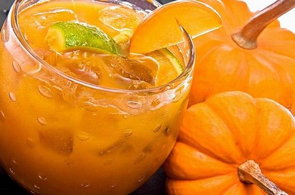 Тыквенный сок с апельсином— очень вкусный и полезный!