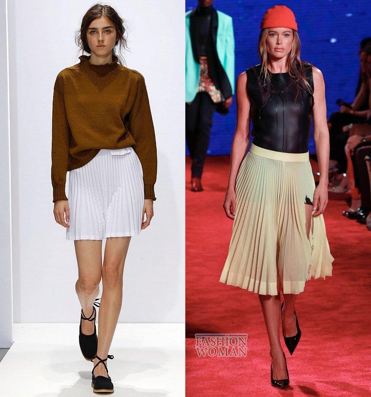 Модные юбки весна-лето 2019 фото №3