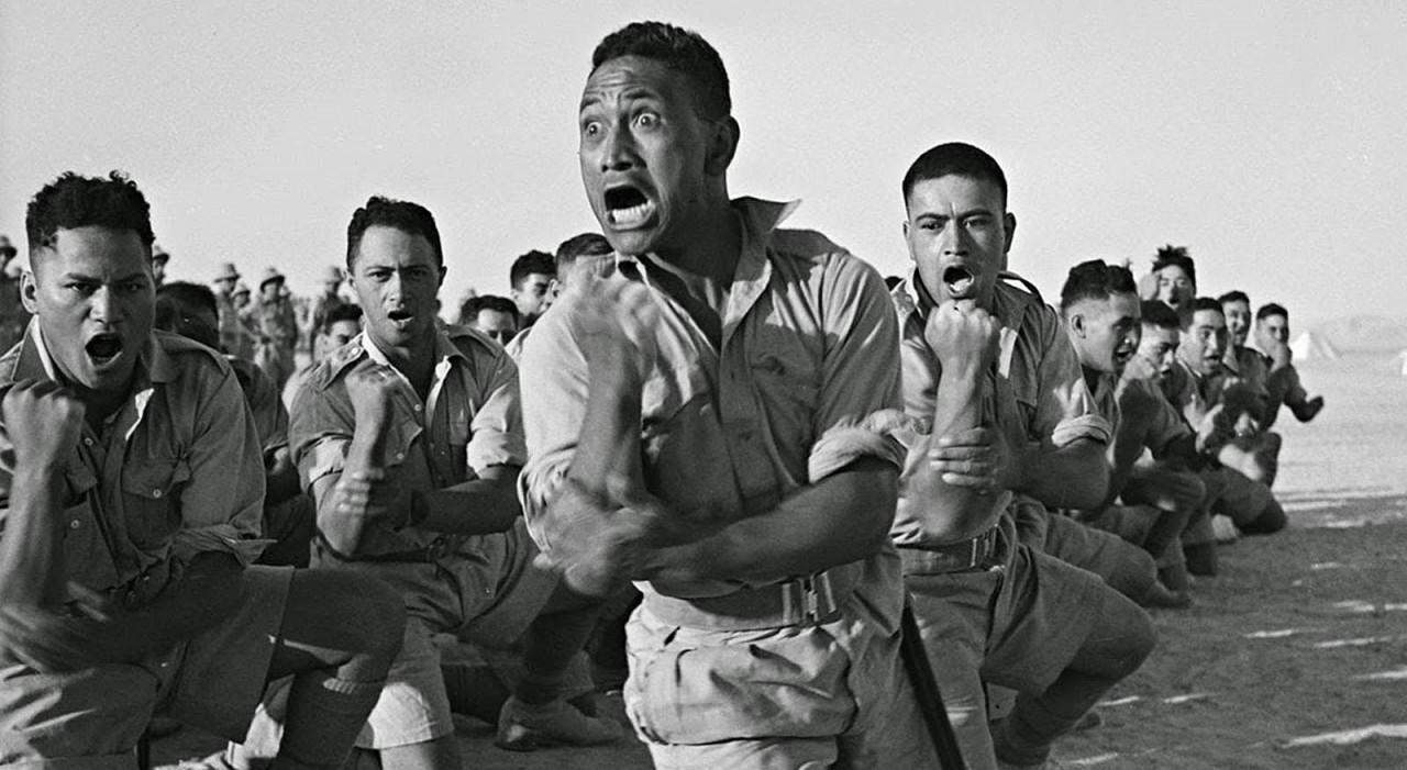 Маори против нацистов: штыки, булыжники и ритуалы