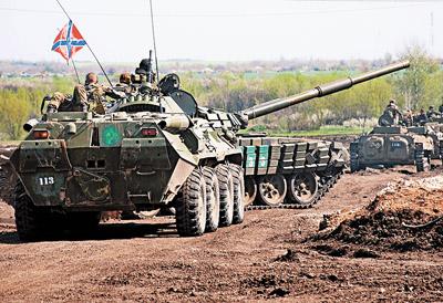 Весеннее обострение на Донбассе