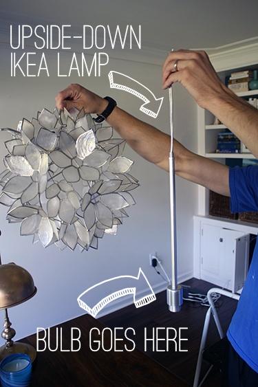 как сделать DIY Capiz Shell подвесной светильник
