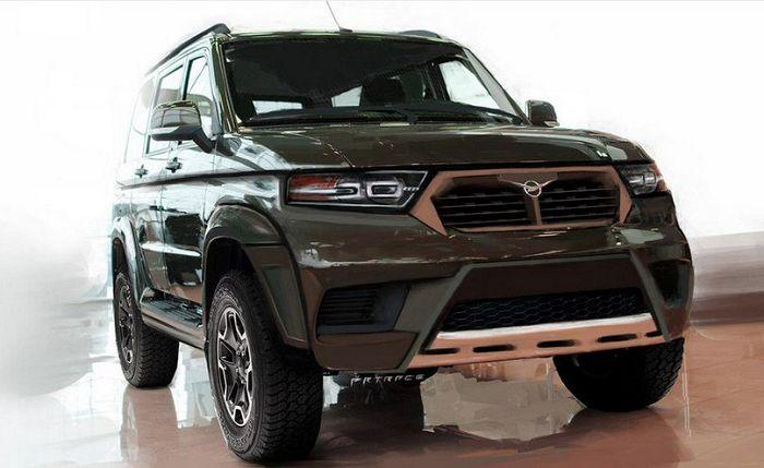 Дизайн УАЗ-3170 от студии Artrace Car Design