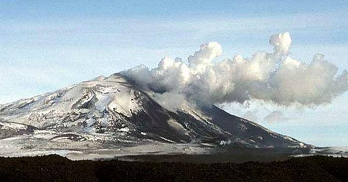 Гора Гекла.