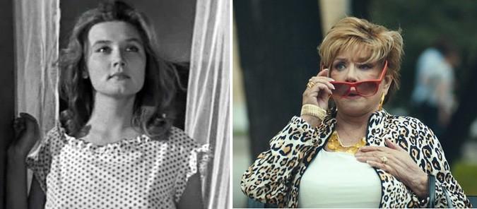 Вера Алентова, 75 лет «Дни лётные» (1965) 23 года — «с 8 марта, мужчины!» (2014) 72 года