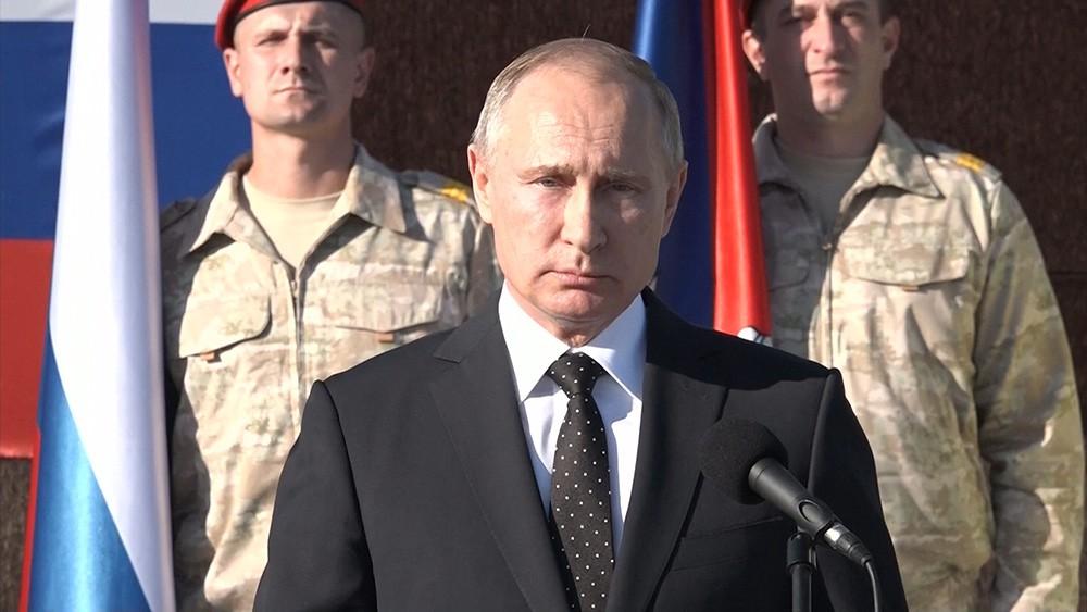 Армия России сорвала атаку мирового глубинного государства на Путина