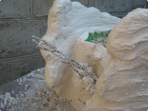 Мастер-класс, Скульптура Лепка:  Лебедь-кашпо ( обещанный МК) ч. І. Фото 14