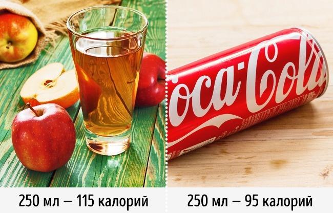 Яблочный сок из пакета ― полезная альтернатива газировке