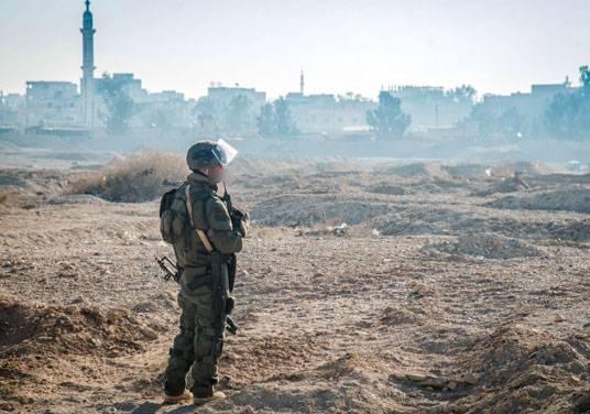 МО РФ подтвердило гибель российского офицера в Сирии