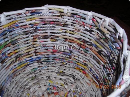 Мастер-класс Плетение: Мастер класс плетения из газеты для новичков Бумага газетная Отдых. Фото 17